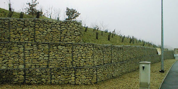 Gabion Baskets Ground Stabilisation Mesh Retaining Wall Uk